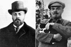Александр Парвус и Владимир Ленин