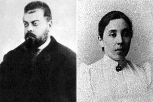 Александр Парвус и его жена Татьяна Берман