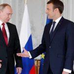 Пресс-конференция В. Путина и Э. Макрона по итогам переговоров.24.05.2018.