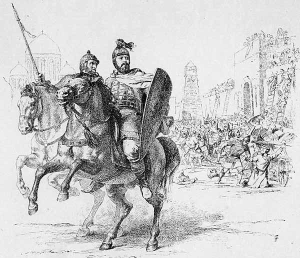 Мстислав II Изяславич. В. Верещагин