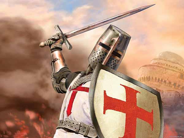 Крестоносцы 13 век