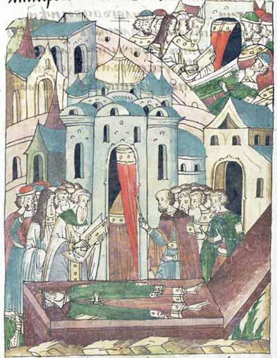 Смерть князя Симеона Иоанновича