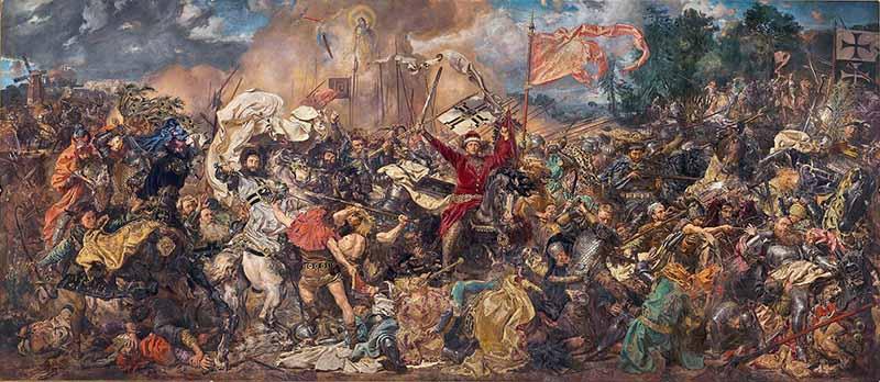 Ян Матейко. «Грюнвальдская битва». 1878 г.