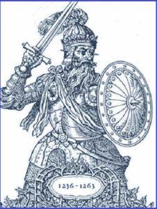 Великий князь Литовский Миндовг