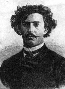Михаил Микешин. Автор памятника