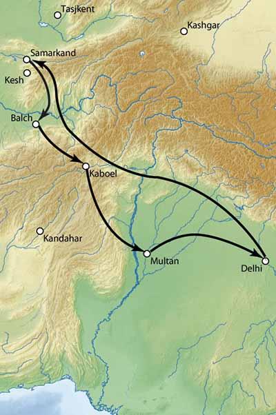 Поход Тамерлан в Индию. 1398-1399 гг.