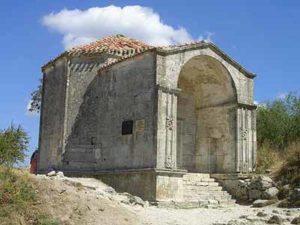 Гробница дочери Тохтамыша в Чуфут-Кале