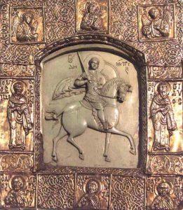 Икона Святого Димитрия Солунского