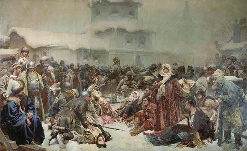 Марфа Посадница (Уничтожение новгородского веча)