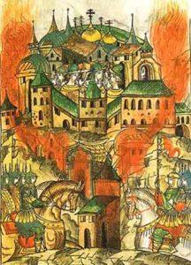 Осада Москвы Эдигеем в 1408 году