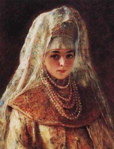 Соломония Сабурова - первая жена Василия III