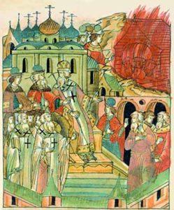 Осуждение жидовствующих на Соборе 1504 года.
