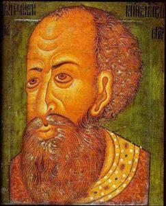 Иван Грозный и его сын Иван 16 ноября 1581 года