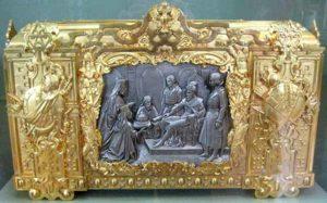 Ларец-ковчег для хранения грамоты об утверждении на царство Ивана IV