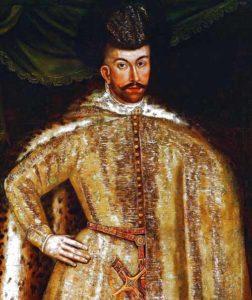 Симеон Бекбулатович.Неизвестный польский художник, XVI-XVII в