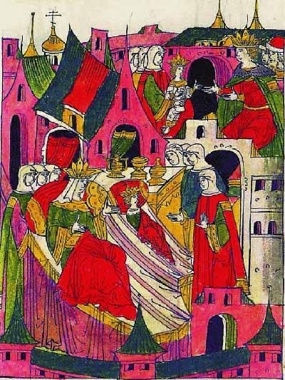 Рождение Фёдора I Иоанновича