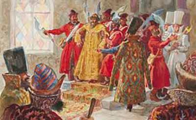 Василий IV Шуйский свергнут боярами. Б.Пашков