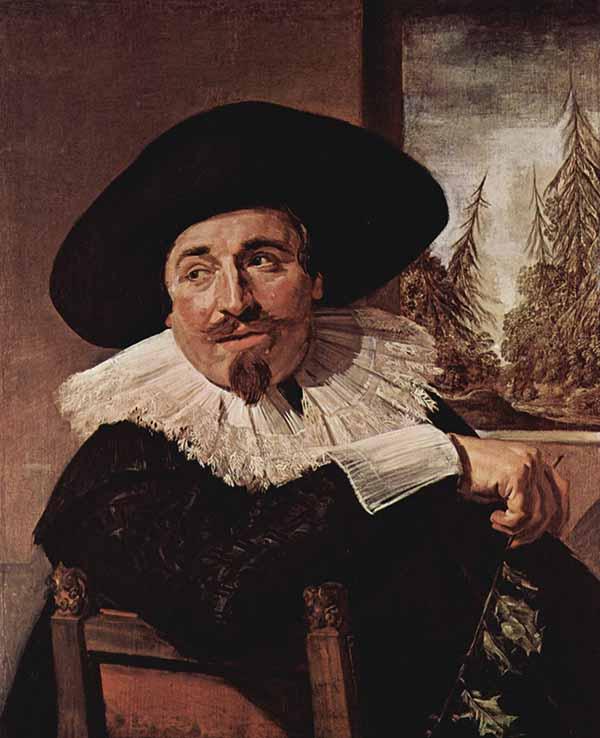 Портрет Исаака Массы работы Франса Халса, 1626, Художественная галерея Онтарио