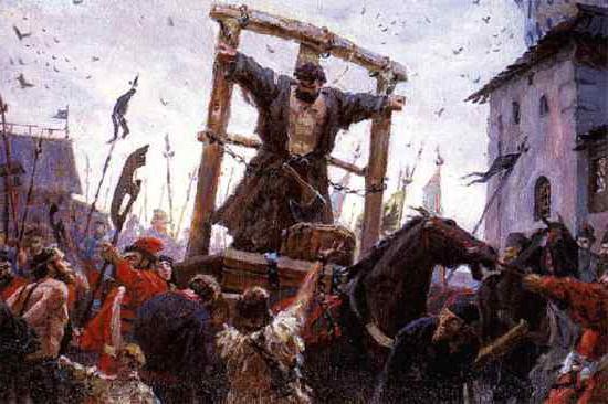 Казнь атамана Хлопко 1603 год