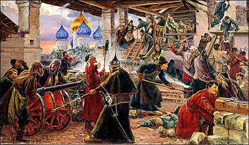 Оборона Троице-Сергиевой Лавры от войск Лжедмитрия II в 1608-1610 гг Сергей Милорадович