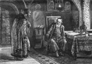 Свидание Скопина-Шуйского с Василием Шуйским в Москве