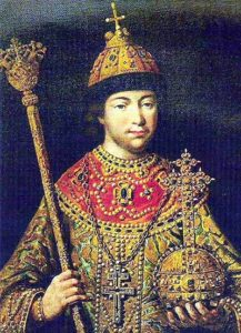 Михаил Федорович Романов в юности