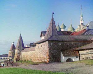 Соловецкий монастырь (фото Сергея Прокудина-Горского, 1915)