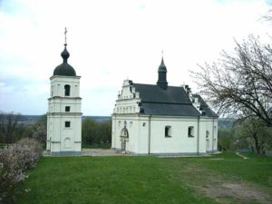 Ильинская церковь в Суботове, в которой был погребён гетман Богдан Хмельницкий
