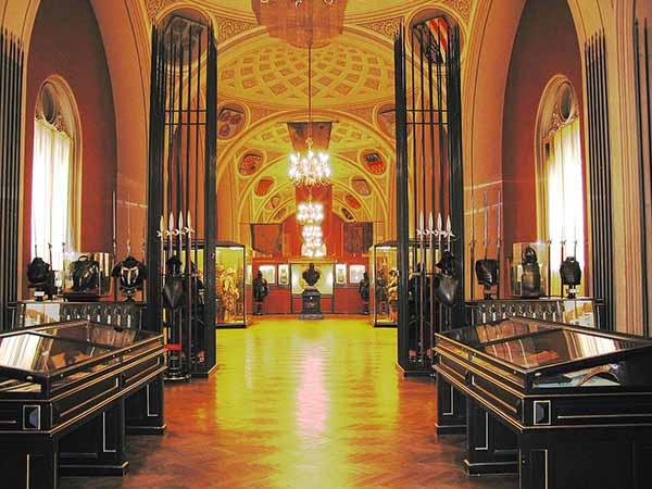 Венский военно-исторический музей. Зал, посвящённый Тридцатилетней войне