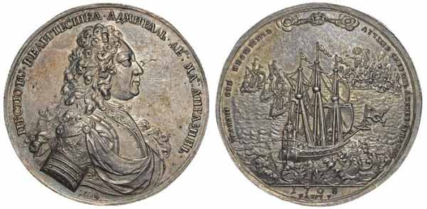 Медаль в честь Апраксина Фёдора Матвеевича