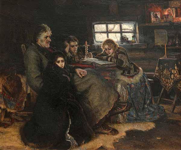 Меншиков Александр Данилович В. И. Суриков. Меншиков в Берёзове 1883