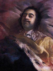 Пётр I Алексеевич на смертном одре