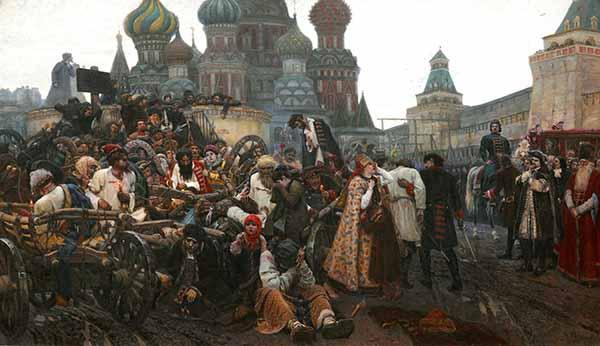 Утро стрелецкой казни. Худ. В. И. Суриков, 1881