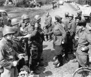 Встреча на Эльбе 1945