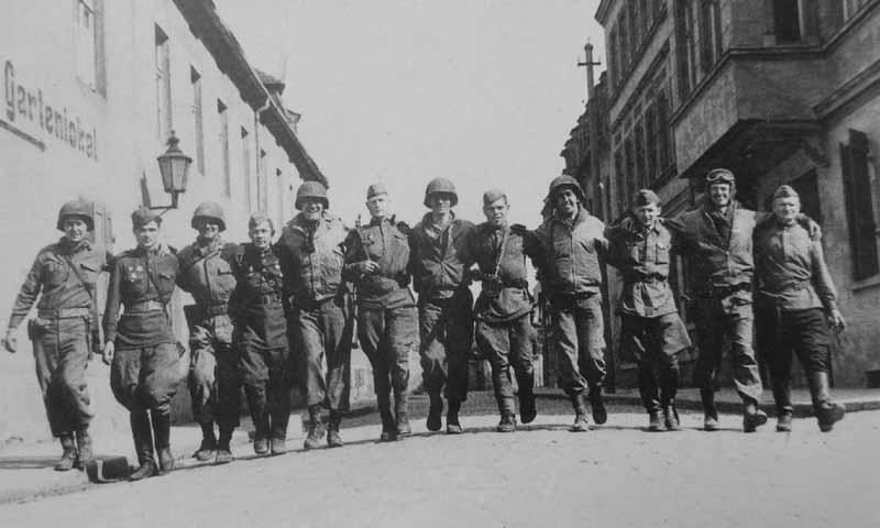 Встреча на Эльбе 25 апреля 1945 года