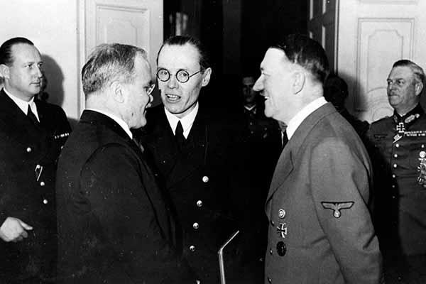 Визит Молотова в Берлин в ноябре 1940 года