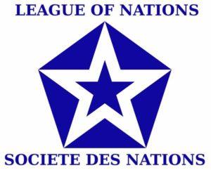 Лига наций Неофициальный флаг (1939—1941)