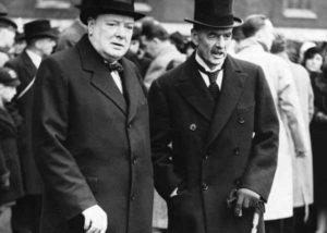 Уинстон Черчилль и Невилл Чемберлен