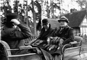Эдуард Галифакс и Герман Геринг 1937 год