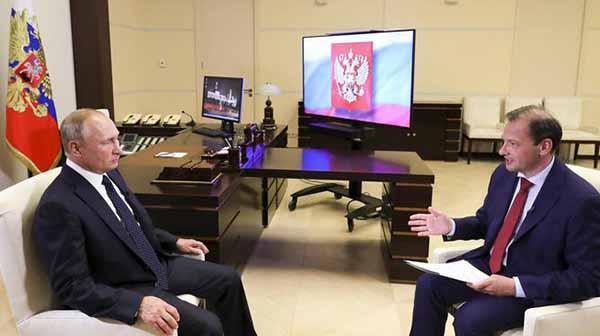 Белоруссия. Большое интервью Владимира Путина Сергею Брилеву. 27.08.2020