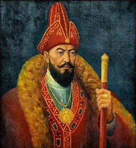 Абылай-хан - казахский хан Среднего жуза