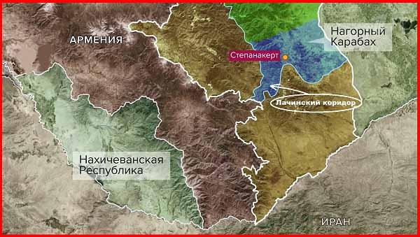 Нагорный Карабах 13 ноября 2020 года