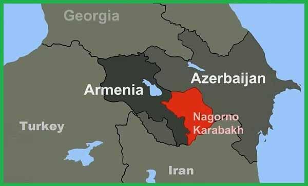 Нагорный Карабах. На 10 декабря 2020 года