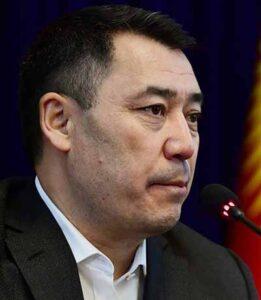 Садыр Нургожоевич Жапаров