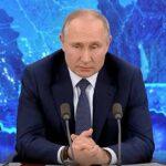 Большая, ежегодная пресс-конференция Владимира Путина.17.12.2020