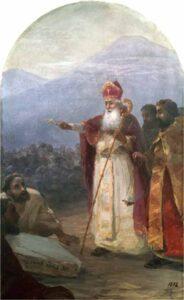 Крещение армянского народа Григорием Просветителем. И. К. Айвазовский.